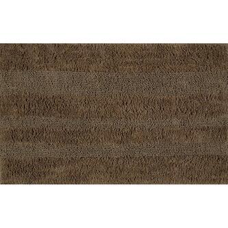 DELHI Badvorlage, 50x80cm, 100% Baumwolle, braun