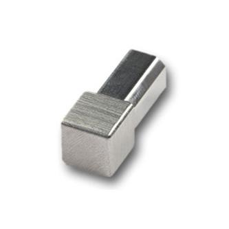 Quadro Eckstück, geschliffen,12,5 mm hoch