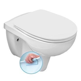 RIGA Hänge-WC mit Rimless Technologie spülrandlos