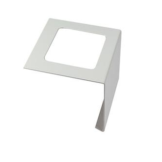 Verbinder, Aluminium, passend zum Balkonabdeckprofil Aluminium, grau, 95mm hoch