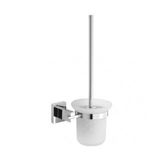 DORIX WC -Bürstenhalter, Chrom /Glas