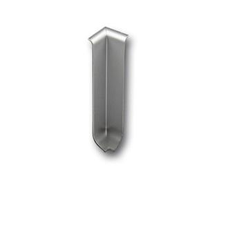 Innenecke für Sockelleisten, Alu eloxiert, 80mm