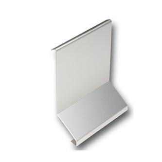 Verbinder Alu, silber eloxiert , Höhe 65mm