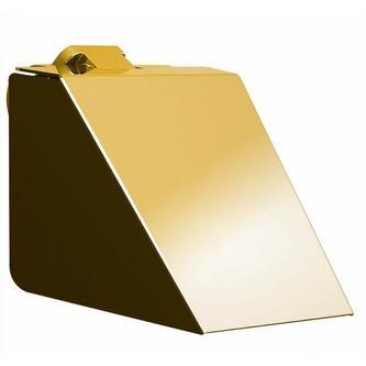 SOUL Toilettenpapierhalter mit Deckel, gold