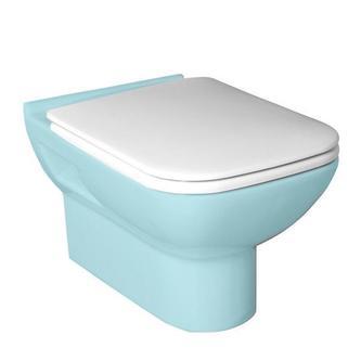BABEL WC-Sitz mit Soft Close, Duroplast, weiß