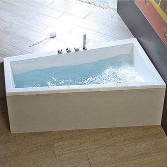 Raumspar Badewanne ANDRA 170x90x45cm, rechts, weiß