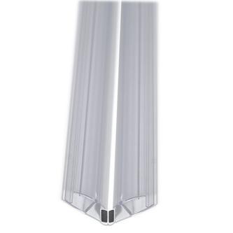 LEGRO Magnet-Türleisten 1900mm für Duschtüren mit Seitenwand