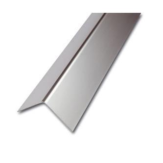 ES Eckschutzprofil, 1-fach gekantet,geschliffen,1,0mm stark,200cm,Maß 60x60mm