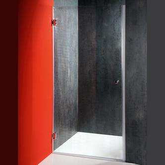FONTE Duschtür ATYP, Abmessung 420-797mm, Höhe 1850mm, Klarglas