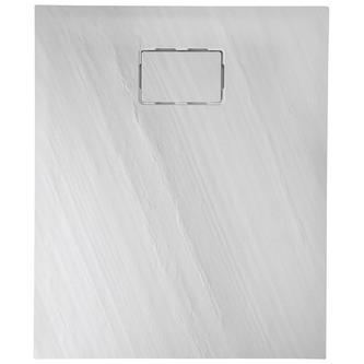 ATIKA 120x90x3,5cm Steinoptik, weiß
