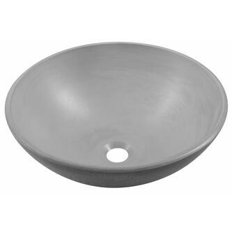 FORMIGO Betonwaschbecken, Durchmesser 41 cm, grau