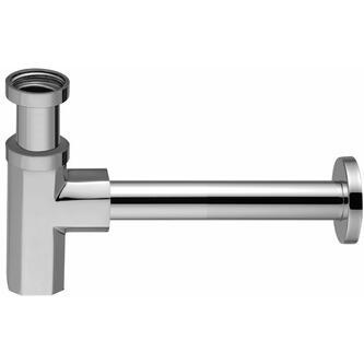 SPY Waschbecken-Siphon 1'1/4, Abfluss 32 mm, Chrom