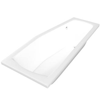 Minou Badewanne 160x70x39cm rechts, weiß