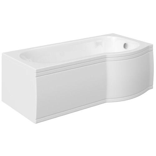 skali badewanne mit duschzone 167 5x85 75x40 cm rechts wei. Black Bedroom Furniture Sets. Home Design Ideas