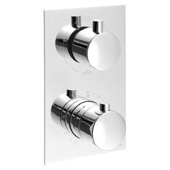 KIMURA Thermostat-Duscharmatur, 3 Wege, Chrom