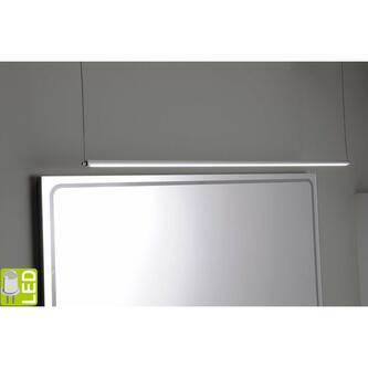 FROMT TOUCH LED Häng-Lampe 102cm 15W, Sensor, Aluminium