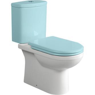 DYNASTY Kombi-WC, Abgang senkrecht/waagerecht, 35x68cm