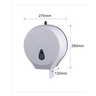 Toilettenpapierspender 290mm, weiß