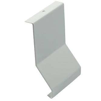 Verbinder/Eckstücke aus Aluminium, passend zum Balkonabdeckprofil Aluminium (FBS), grau, 75/79/88 mm hoch