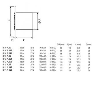 Rohrdurchmesser 150mm
