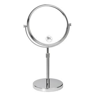 Kosmetikspiegel ohne Beleuchtung, rund, Durchmesser 200mm, Chrom