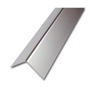 ES Eckschutzprofil, 1-fach gekantet,geschliffen,1,0mm stark,200cm,Maß 30x30mm
