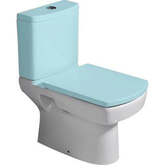 BASIC Kombi-WC, Abgang senkrecht/waagerecht, 35x61cm