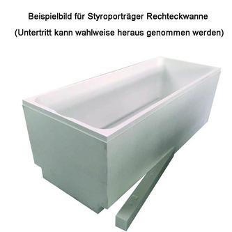 Styroporträger zu Badewanne Quest 180x100cm