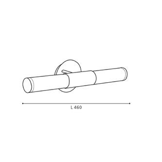 PALMERA Wandlampe E14, 40W, 230V