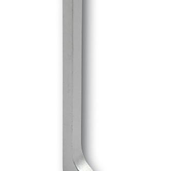 Endkappe links für Sockelleisten Alu, eloxiert, 80mm