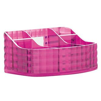 GLADY Kosmetikständer zum Stellen, rosa