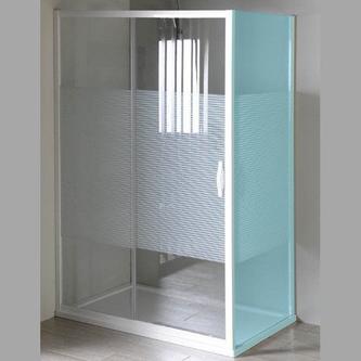ETERNO Schiebetür 1000mm, Glas STRIP