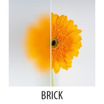 SIGMA Schiebetür 1100mm, Glas Brick