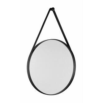 ORBITER runder Spiegel , ø 60cm, mattschwarz