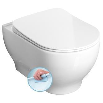 GARCIA Hänge WC mit Rimless Technologie, spülrandlos