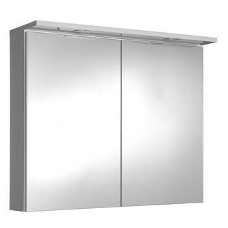 Spiegelschrank mit LED Beleuchtung 80x70x24cm, weiss