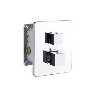 INCASSO UP Thermostat-Dusch-Armatur,2 Wege, mit Einbaubox,Chrom