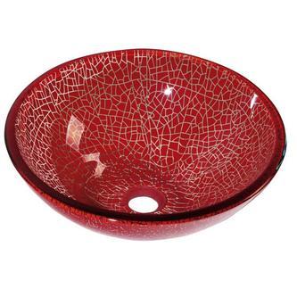 VENEZIA Glaswaschtisch, Durchmesser 42 cm
