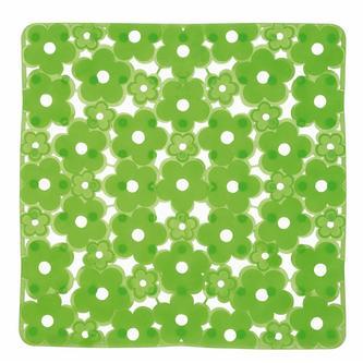 MARGHERITA Duscheinlage 51,5 x 51,5 cm, Anti-Rutsch, PVC, grün