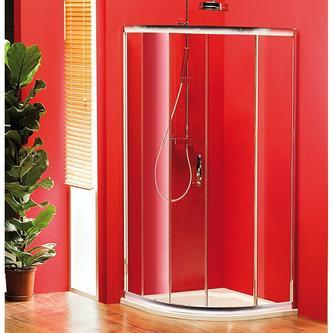 SIGMA Duschabtrennung Viertelkreis 900x900mm, R550, 1x Tür, Klarglas