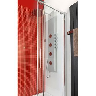 5SIDE ROUND Duschpaneel250x1550mm, 0335 Kokos