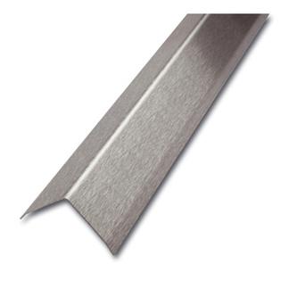 ES Eckschutzprofil, 3-fach gekantet, glatt, 1,0mm stark,250cm lang, Maß 40x40mm