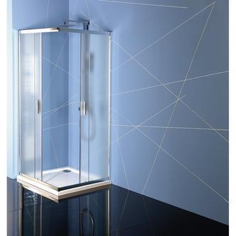 EASY LINE Duschabtrennung Quadrat 900x900mm, Glas BRICK
