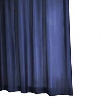 MADISON Duschvorhang 180x200cm, textil, blau