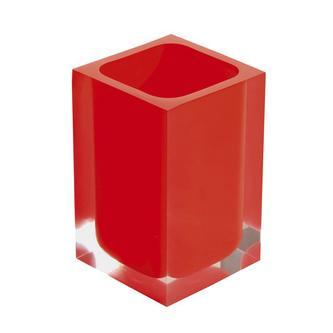 RAINBOW Glas zum Stellen, rot