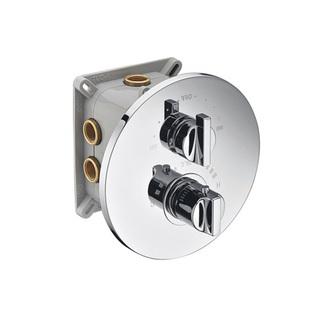 INCASSO UP Thermostat-Dusch-Armatur,2 Wege,mit Einbaubox, Chrom