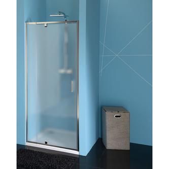 EASY LINE Drehduschtür 760-900mm, Glas BRICK