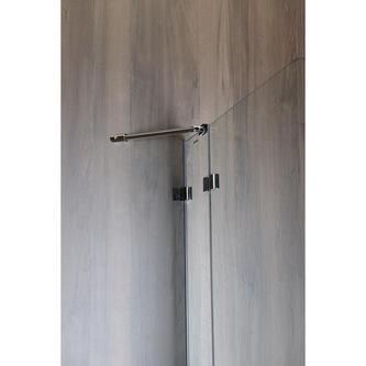 VITRA LINE Duschabtrennung 95cm, rechts, Klarglas