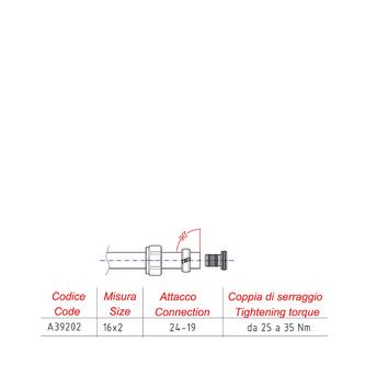 ECO Alupex-Klemmverschraubung 16mm, Nickel/weiß