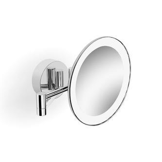 Kosmetikspiegel mit LED Beleuchtung, Chrom